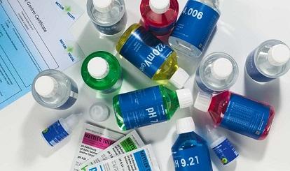 Các dung dịch chuẩn dùng cho máy đo pH/ Ion/ Độ dẫn/ DO của Mettler Toledo